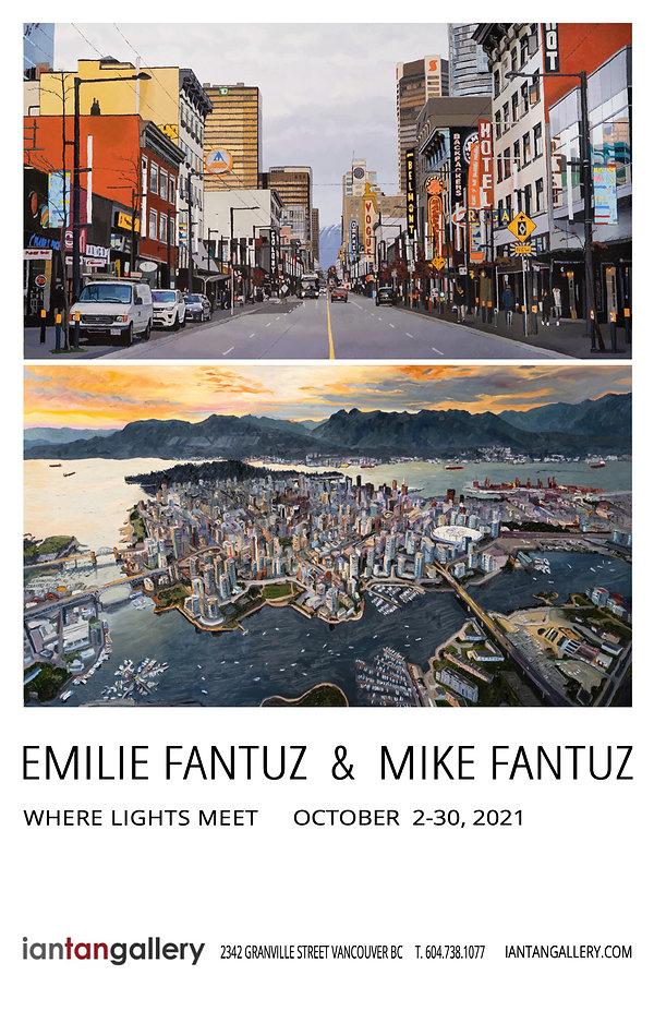Emilie & Mike Fantuz Exhibition poster -Where Lights Meet.jpg