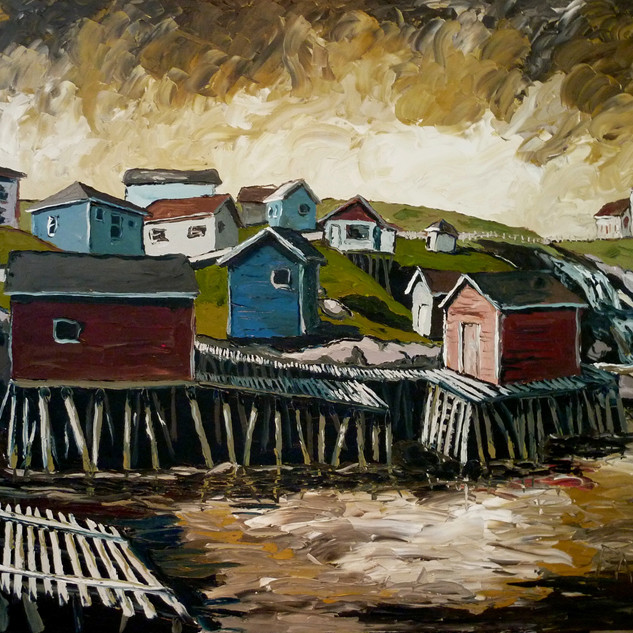 Original Newfoundland painting | Mike Fantuz