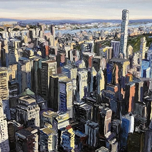 New York City Central Park Oil Painting | Mike Fantuz
