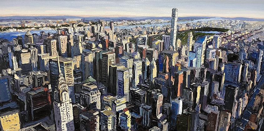 New York Towards Central Park