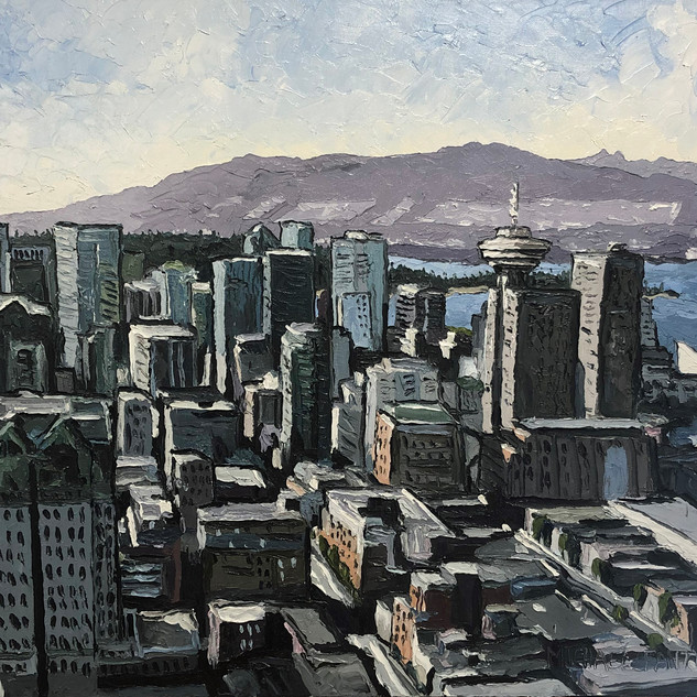 Vancouver Canada Oil painting | Mike Fantuz