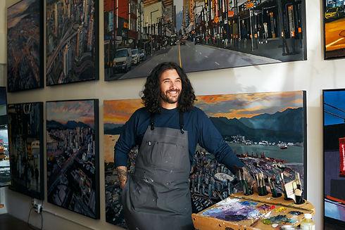 Mike Fantuz Vancouver Art Studio