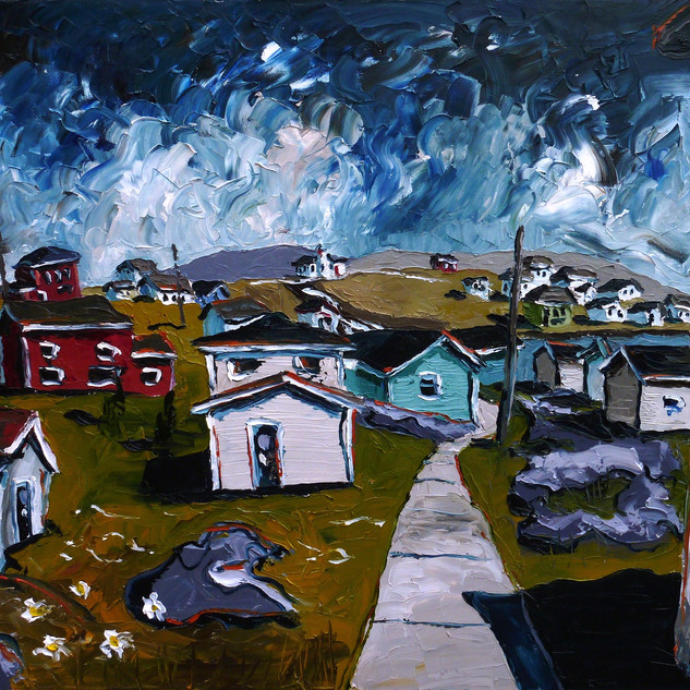 Grand Bruit Newfoundland art | Mike Fantuz