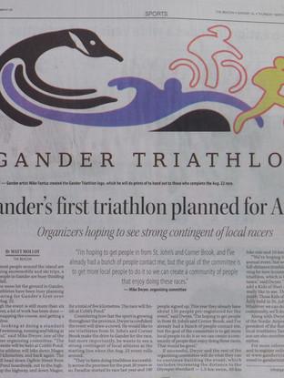 Gander Triathlon