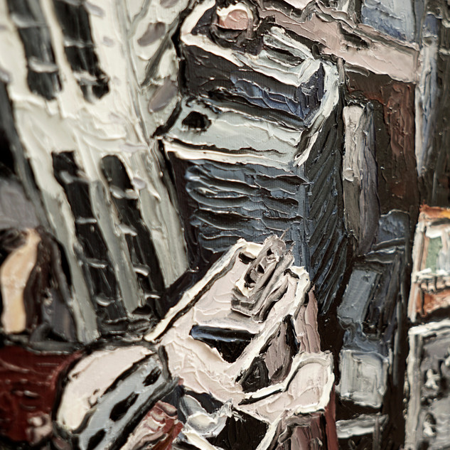 New York Painting detail | Mike Fantuz