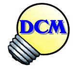 DCM Home Electrical Logo