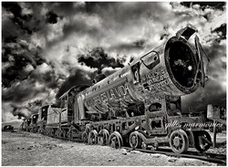 Le cimetière des trains,Bolivie