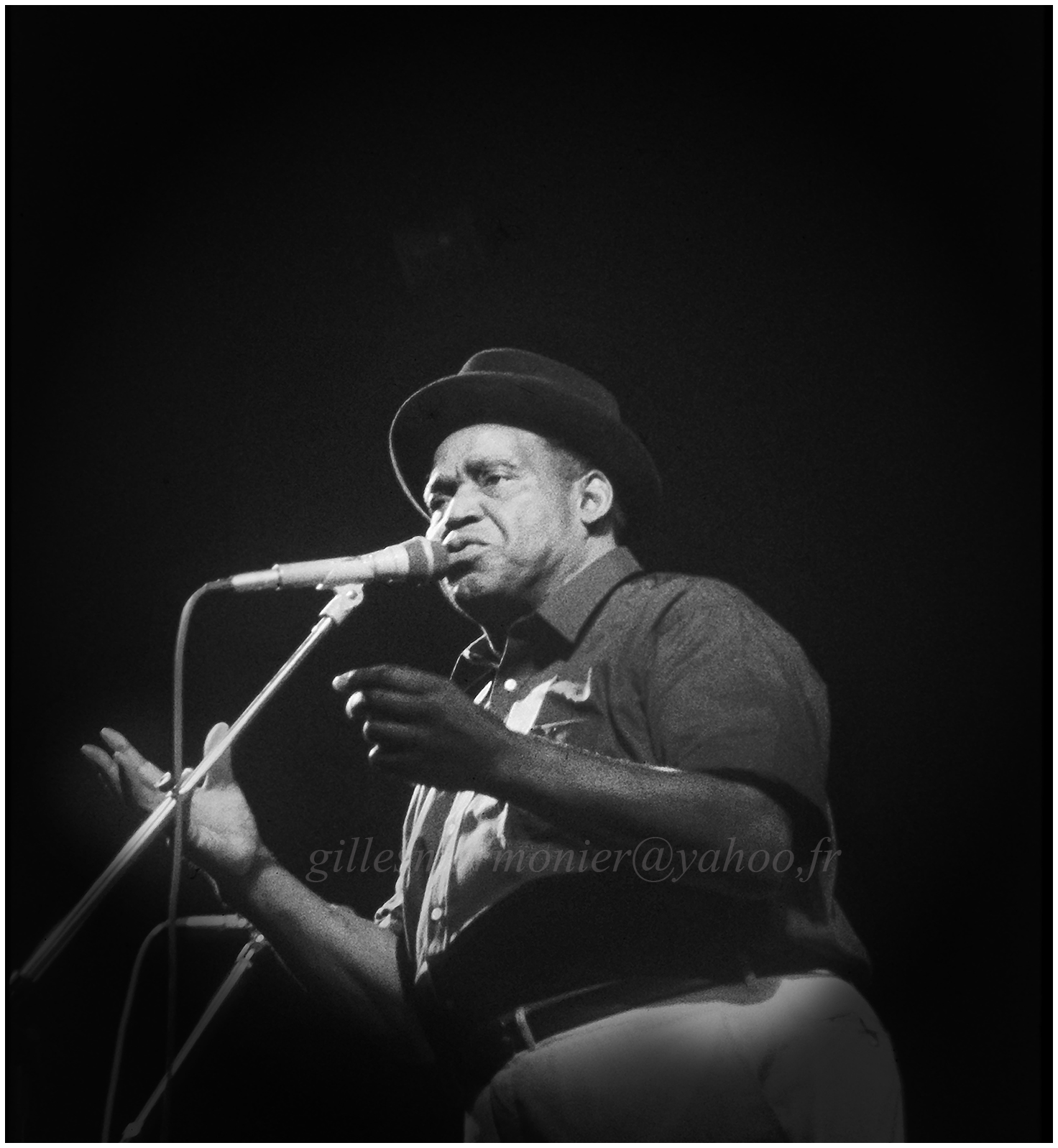 Willie dixon Salon de provence 1983