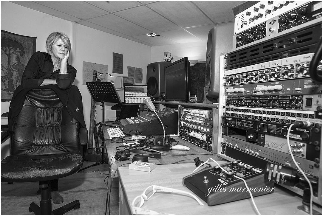 Joelle au studio Koala