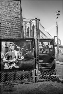 Lou Reed a Brooklyn
