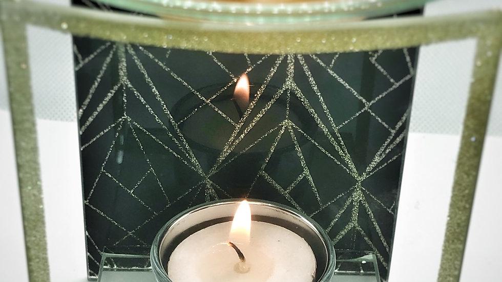 Geometric Glass Burner