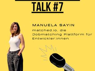 Entrepreneurs Talk: Podcast mit Co-Founderin Ela Sayin