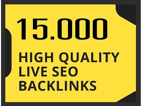 15000高品質のライブSEOバックリンクします。GOOD SEO対策!LIVE保証バックリンクSEO対策。