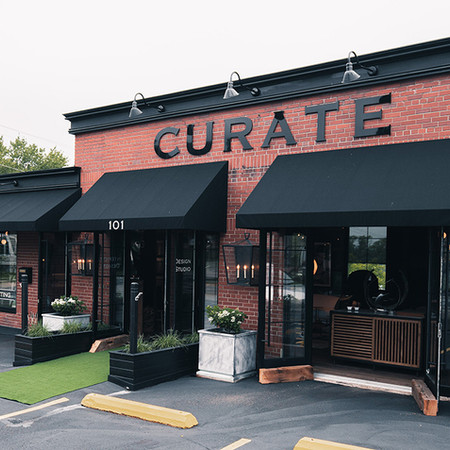 Curate showroom