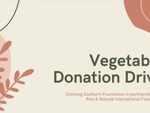 Vegetable Donation Drive