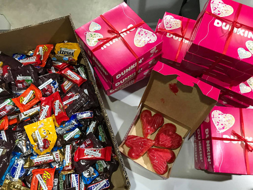 Valentines Special Treat to Gothong Southern Employees