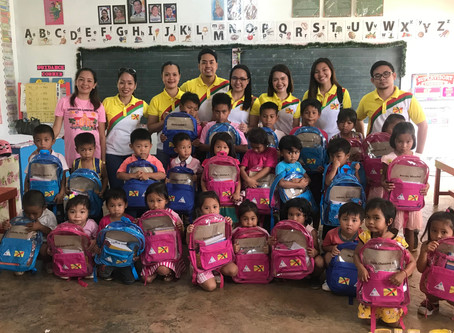 Annual School Kit Provision Activity for the Kindergarten Students of Cambagocboc Elementary School