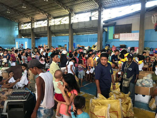 Gothong Southern Foundation Donates to the Fire Victims of Sitio Silangan Barangay Tejero