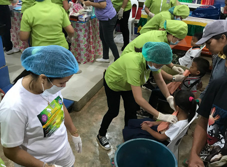 Dental Mission for Cambagocboc Elementary School Students
