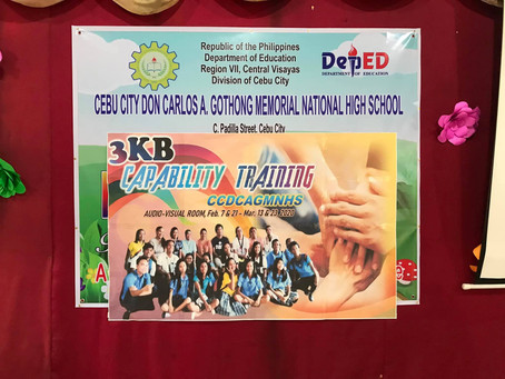 Don Carlos A Gothong Memorial National High School 3KB Program : Part 2
