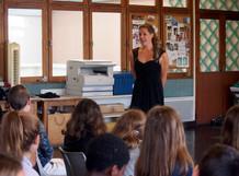 Ateliers pédagogiques au collège d'Hagetmau
