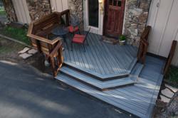 Beautiful Trex Deck in Evergreen