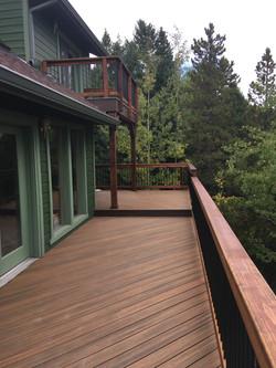 Stunning Trex Deck in Conifer