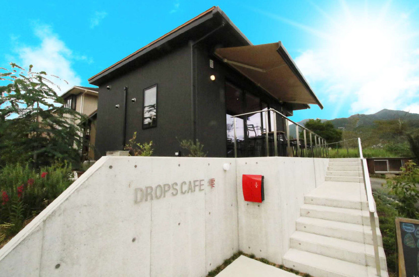施工事例 DROPS CAFE 外観