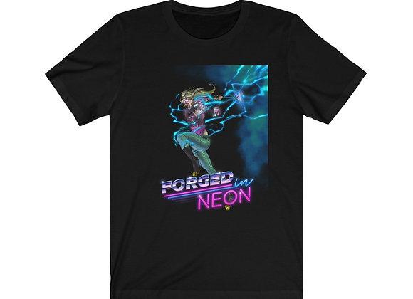 Neon Warrior Short Sleeve Tee Unisex