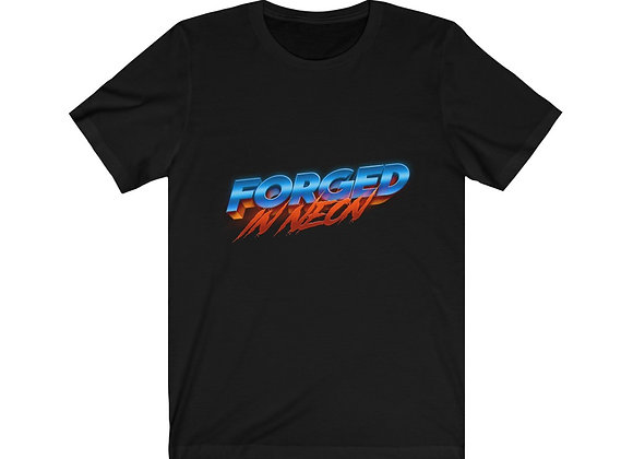 Forged in Neon Logo Unisex Tee