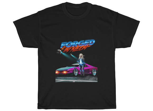 Forged in Neon Unisex Heavy Cotton Tee