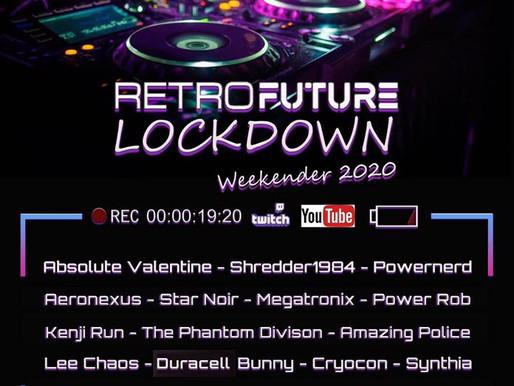 RETRO FUTURE FEST ONLINE WEEKENDER 2020 | Livestream