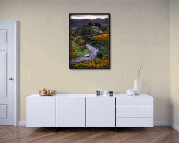 Automotive art prints for sale Gumball 3