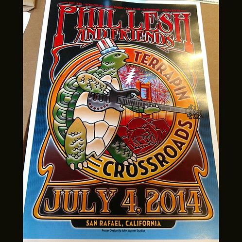 Phil Lesh & Friends 7/4/14 Poster