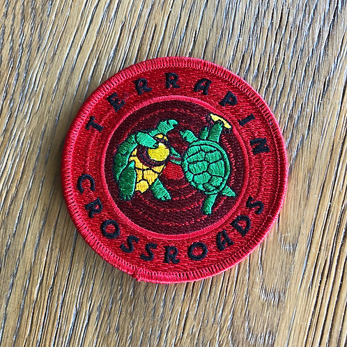 Red Logo Patch