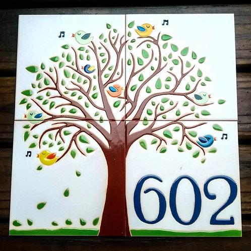 Número de azulejos 30x30cm