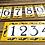 Thumbnail: Números de azulejo 15,4x7,7cm cada