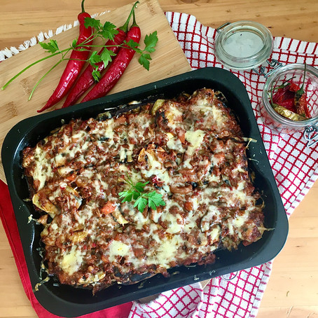 Healthy Moussaka recipe