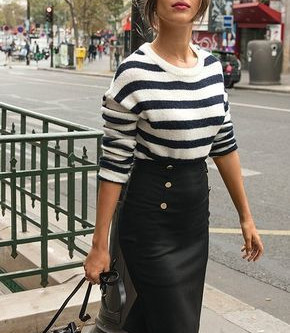 4 transitional ways to style a stripy t-shirt