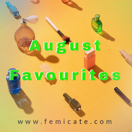 August favourites and complaint about the Eat out to help out