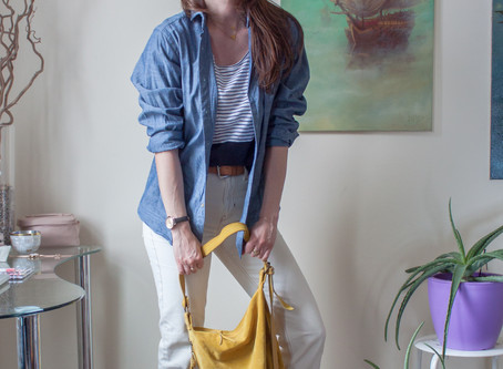 6 fresh ways to style cream jeans for Spring