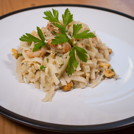 Pad Thai prawn noodles recipe