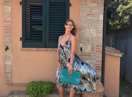 All my summer holiday outfits and massive decluttering of my Italian wardrobe