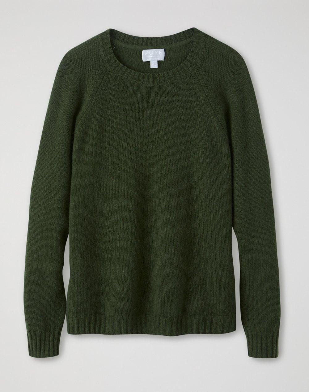 Pure collection khaki lofty jumper