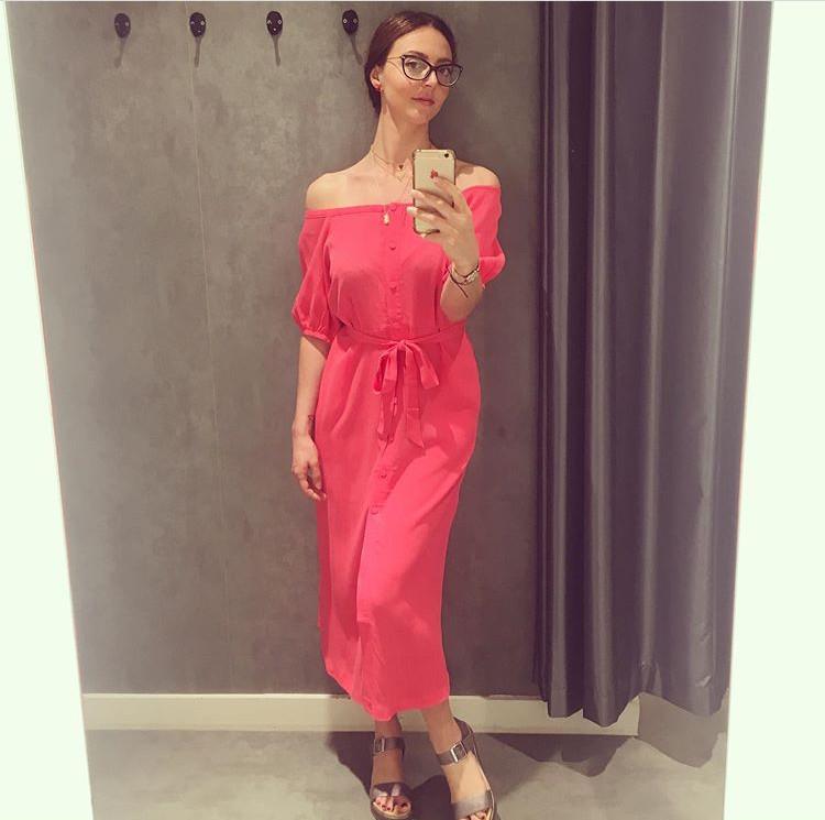 Bardot dress from Oliver Bonas