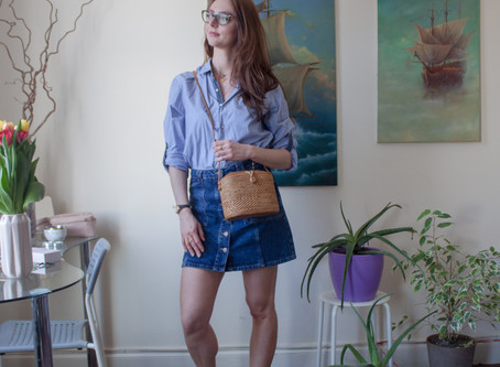 5 cute no-brainer skirts outfits for Spring