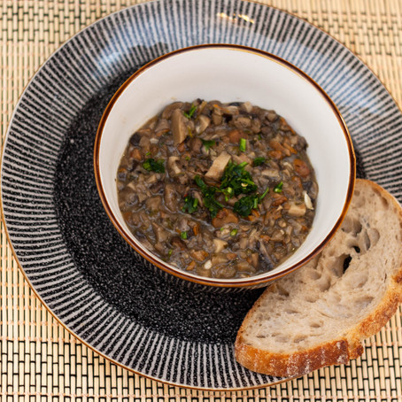 One-pot mushrooms ciulama'