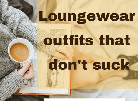 7 loungewear outfits that don't suck