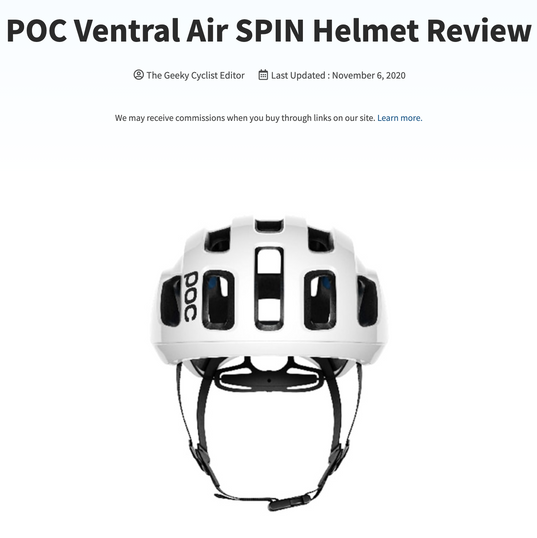 POC Ventral Air SPIN Helmet Review