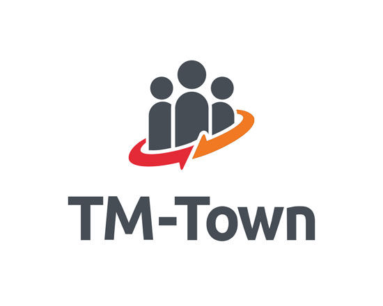 TM Town logo